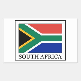 南アフリカ共和国のステッカー 長方形シール