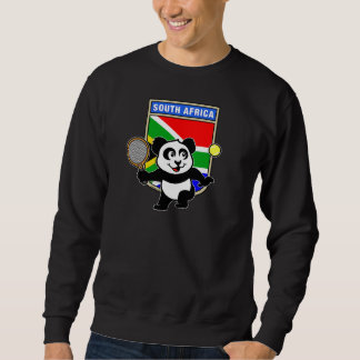 南アフリカ共和国のテニスのパンダ スウェットシャツ
