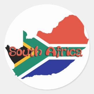 南アフリカ共和国のテーマ ラウンドシール