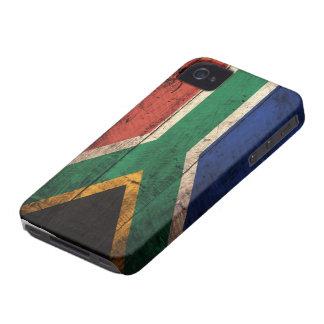 南アフリカ共和国の古い木の旗 Case-Mate iPhone 4 ケース