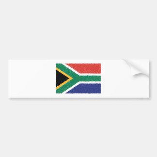 南アフリカ共和国の旗のテーマ バンパーステッカー