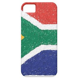 南アフリカ共和国の旗のテーマ iPhone SE/5/5s ケース
