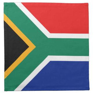 南アフリカ共和国の旗のナプキン ナプキンクロス