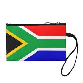 南アフリカ共和国の旗の硬貨の財布 コインパース