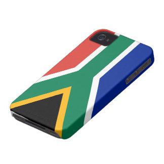 南アフリカ共和国の旗のiphone 4ケース Case-Mate iPhone 4 ケース