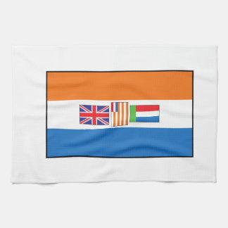 南アフリカ共和国の旗 キッチンタオル