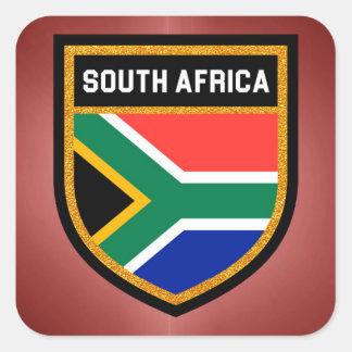 南アフリカ共和国の旗 スクエアシール