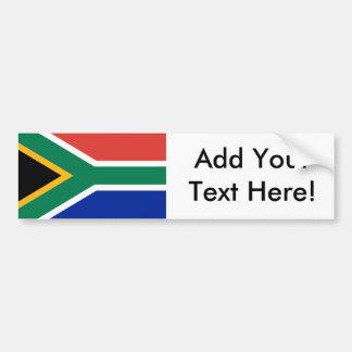 南アフリカ共和国の旗 バンパーステッカー