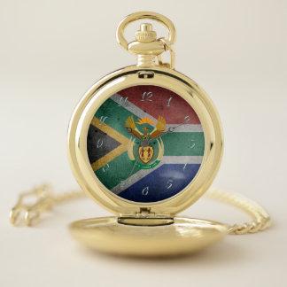 南アフリカ共和国の旗 ポケットウォッチ