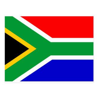 南アフリカ共和国の旗 ポストカード