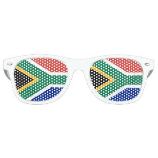 南アフリカ共和国の旗 レトロサングラス