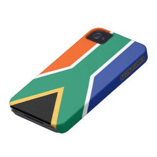 南アフリカ共和国の旗 Case-Mate iPhone 4 ケース