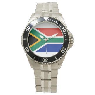 南アフリカ共和国の旗- Vlag van Suid-Afrika 腕時計