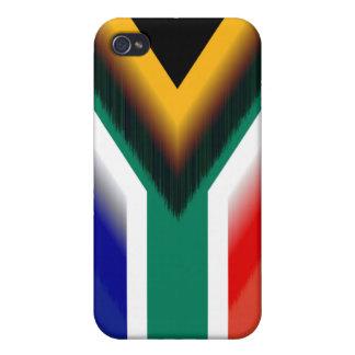 南アフリカ共和国の美しい旗 iPhone 4/4S CASE