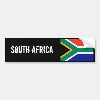 南アフリカ共和国のbumberのステッカー バンパーステッカー