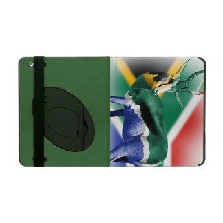 南アフリカ共和国のSpringbuckの旗 iPad ケース
