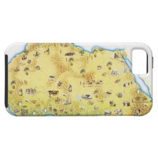 南アフリカ共和国2の地図 iPhone SE/5/5s ケース
