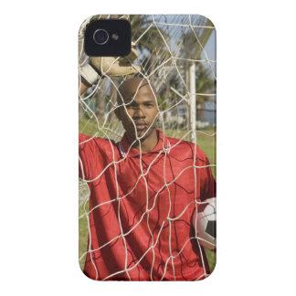 南アフリカ共和国2010年で握られるべきワールドカップのサッカー Case-Mate iPhone 4 ケース