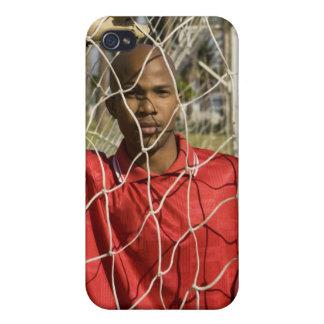 南アフリカ共和国2010年で握られるべきワールドカップのサッカー iPhone 4/4S ケース