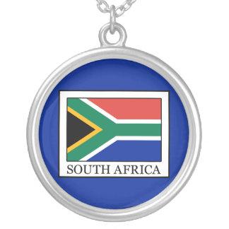 南アフリカ共和国 シルバープレートネックレス