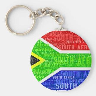 南アフリカ共和国 ベーシック丸型缶キーホルダー