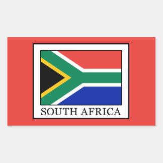 南アフリカ共和国 長方形シール