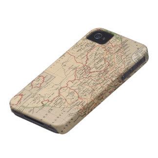 南アフリカ共和国(1880年)のヴィンテージの地図 Case-Mate iPhone 4 ケース