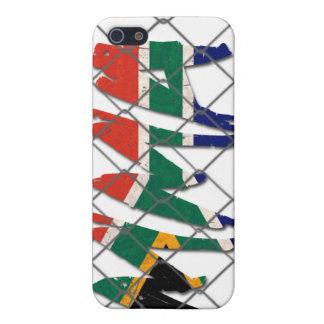 南アフリカ共和国MMAの白のiphone 4ケース iPhone 5 カバー
