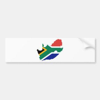 南アフリカ共和国ZA バンパーステッカー
