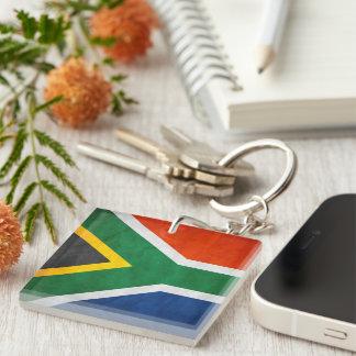 南アフリカKeychain 1 正方形(片面)アクリル製キーホルダー