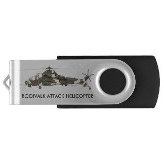 南アフリカROOIVALKのヘリコプターおよびRATEL 90 USBフラッシュドライブ