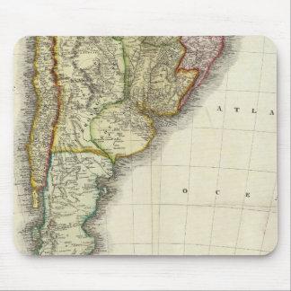 南アメリカおよび西インド諸島 マウスパッド