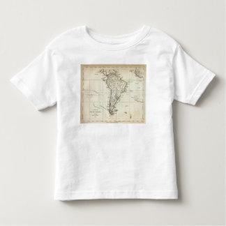 南アメリカおよび隣接した島 トドラーTシャツ