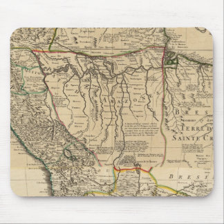 南アメリカの合成の地図 マウスパッド