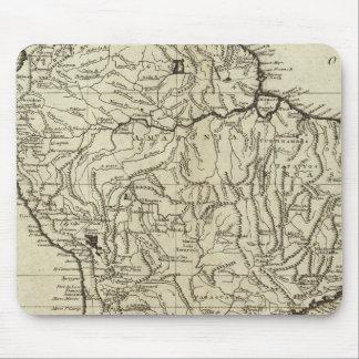 南アメリカの地図 マウスパッド