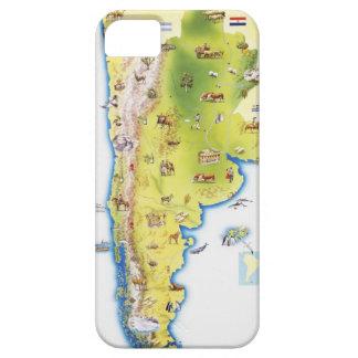 南アメリカの地図 iPhone SE/5/5s ケース