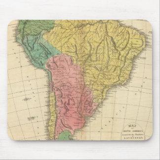 南アメリカの歴史の地図 マウスパッド