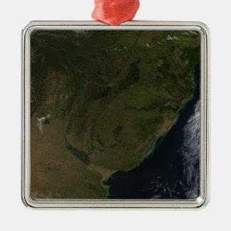 南アメリカの衛星眺め メタルオーナメント