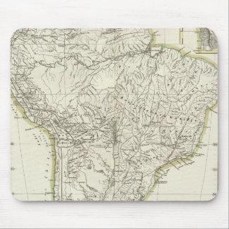 南アメリカ3の地図 マウスパッド