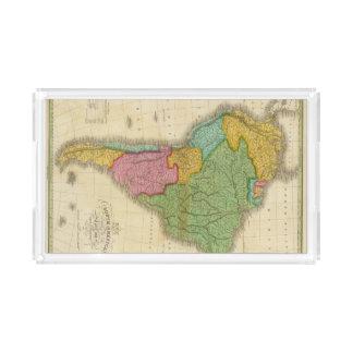 南アメリカ4の地図 アクリルトレー