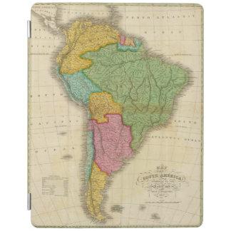 南アメリカ4の地図 iPadスマートカバー