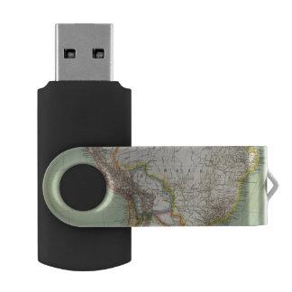 南アメリカ42 USBフラッシュドライブ