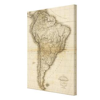 南アメリカ5 キャンバスプリント
