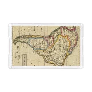 南アメリカ7 アクリルトレー