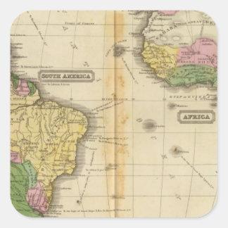 南アメリカ、アフリカ スクエアシール