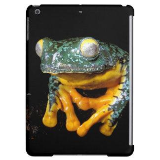 南アメリカ、エクアドル、アマゾン。 葉のカエル iPad AIRケース