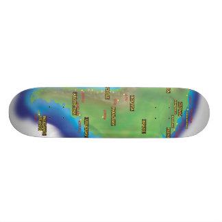 南アメリカ カスタムスケートボード