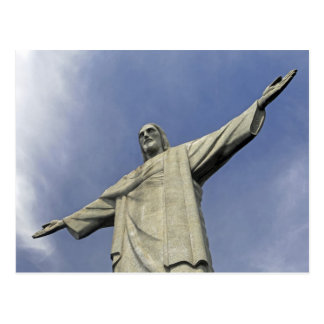 南アメリカ、ブラジル、リオデジャネイロ。 キリスト2 ポストカード