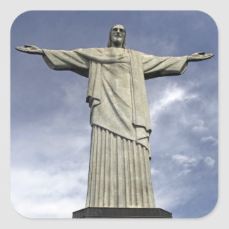 南アメリカ、ブラジル、リオデジャネイロ。 キリスト スクエアシール