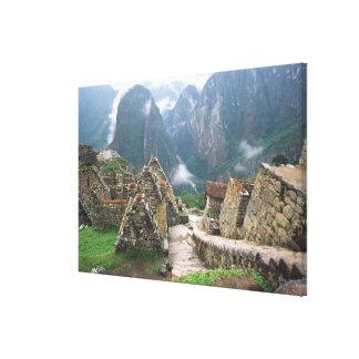 南アメリカ、ペルー、Machu Picchu キャンバスプリント